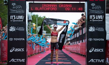 THREE TIME CHAMP BACK AS IRONMAN AMBASSADOR