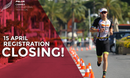 Polar Cannes International Triathlon closes registrations on April 15