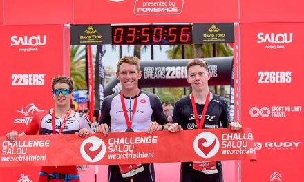 Cameron Wurf and Judith Corachan were crowned in the Challenge Salou 2018