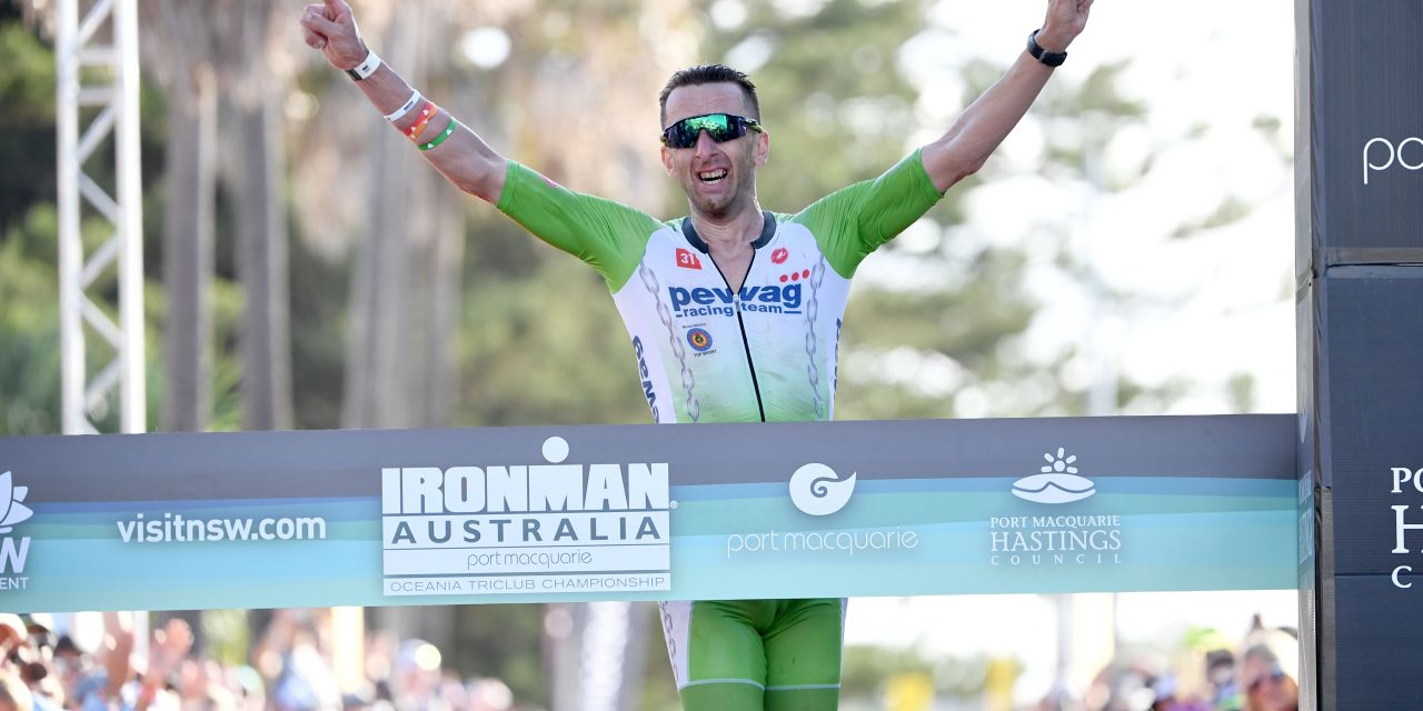 IRONMAN AUSTRALIA : BACK TO WINS, RECORDS SET AND HISTORY MADE