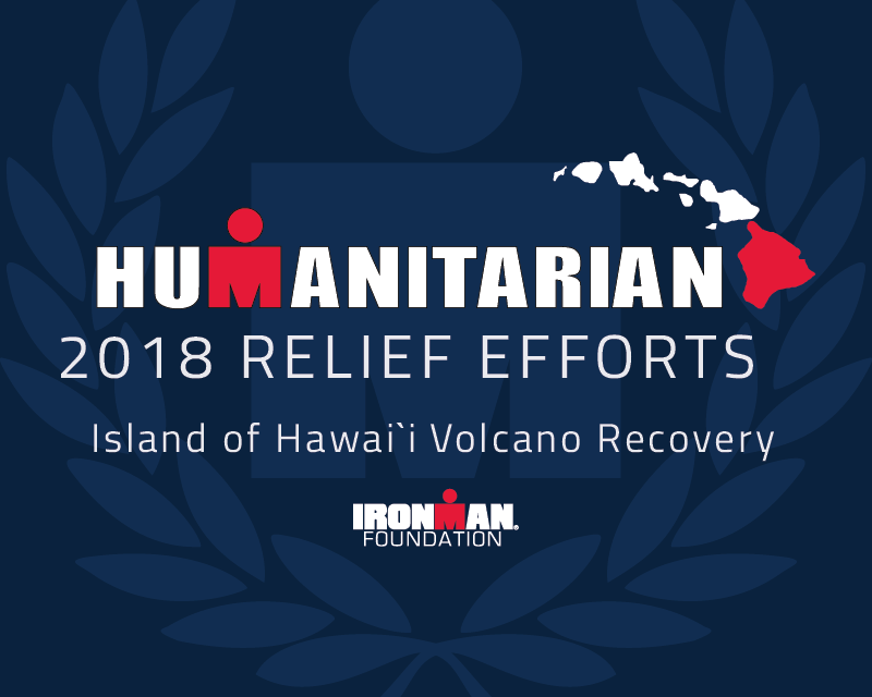 IRONMAN FOUNDATION PLEDGES $50,000 TO SUPPORT HAWAI`I RELIEF EFFORTS