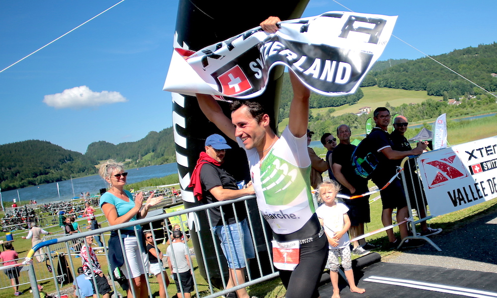 Forossier, Poor win XTERRA Switzerland