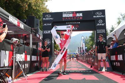 Brent McMahon Crushes Ironman Canada