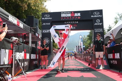 Brent McMahon Crushes Ironman Canada