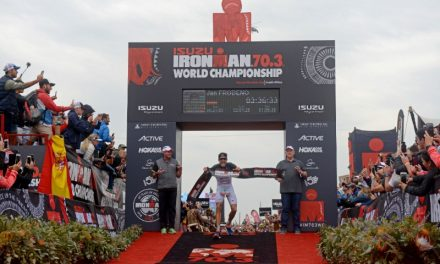 JAN FRODENO OUTSHINES A WORLD CLASS FIELD OF OLYMPIANS AND WORLD CHAMPIONS; CLAIMS 2018 ISUZU IRONMAN 70.3 WORLD CHAMPIONSHIP TITLE