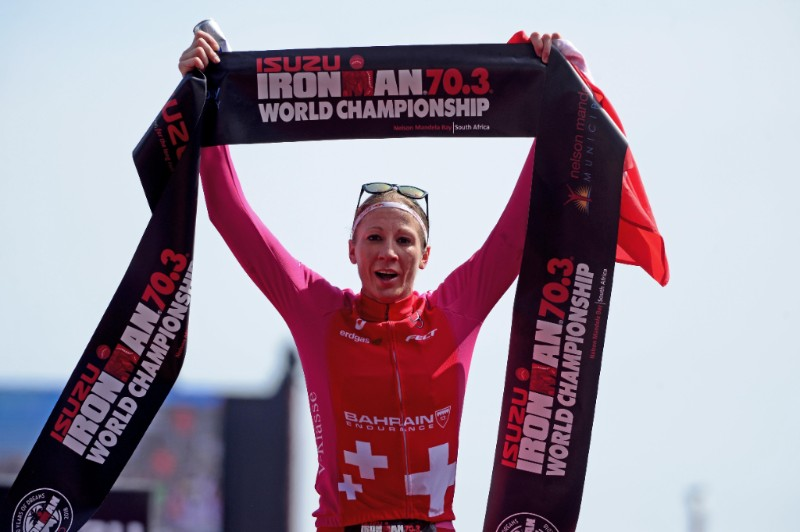 DANIELA RYF CAPTURES THE WOMEN'S ISUZU IRONMAN 70.3 WORLD CHAMPIONSHIP WITH RECORD BREAKING FOURTH CROWN