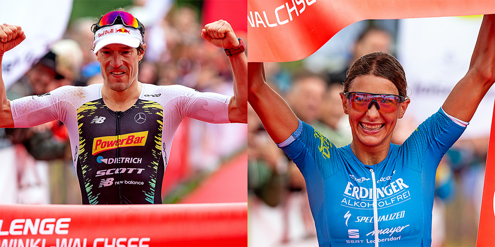 Sebastian Kienle and Eva Wutti claim victory at Challenge Kaiserwinkl-Walchsee