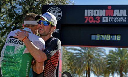 Sanders et Sodaro win first 70.3 Indian Wells-La Quinta
