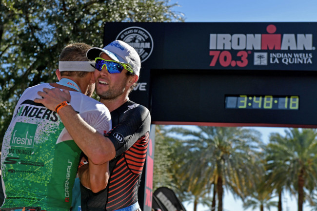 Sanders et Sodaro win first 70.3 Indian Wells-La Quinta
