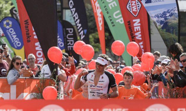 Kiwis Braden Currie and Hannah Wells triumph at Challenge Wanaka