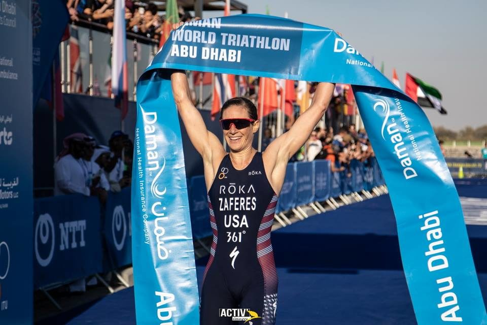 Katie Zaferes powers to WTS Abu Dhabi gold as world title hunt begins in UAE