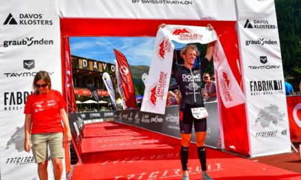 Radka Kahlefeldt and Pieter Heemeryck are the winners of Challenge Davos 2019