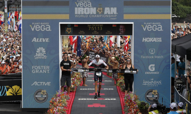 GERMAN'S FRODENO AND HAUG TOP PODIUM AT THE 2019 VEGA IRONMAN WORLD CHAMPIONSHIP